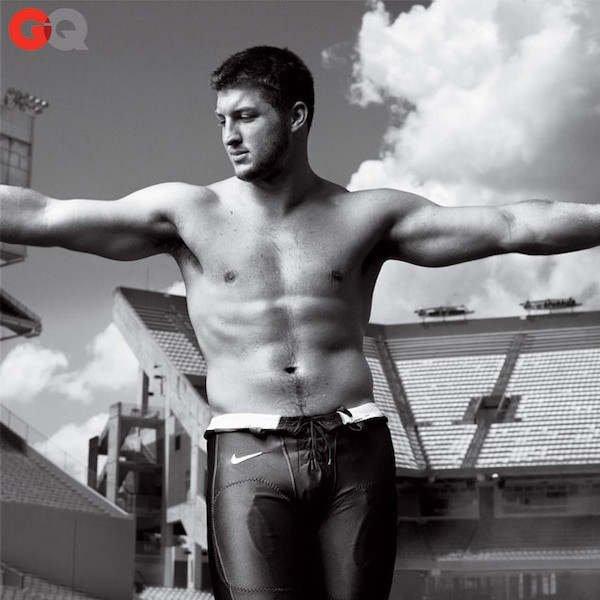 Gq Magazine From Tim Tebow S Hottest Pics E News