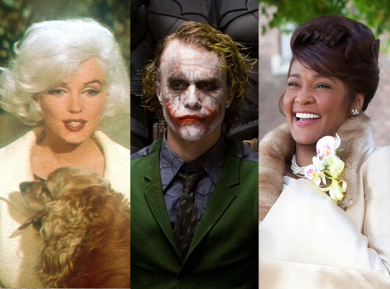 Marilyn Monroe, Something's Gotta Give, Heath Ledger, Dark Knight, Whitney Houston, Sparkle