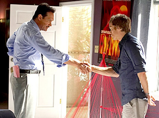 Dexter, Michael C. Hall, Jimmy Smits