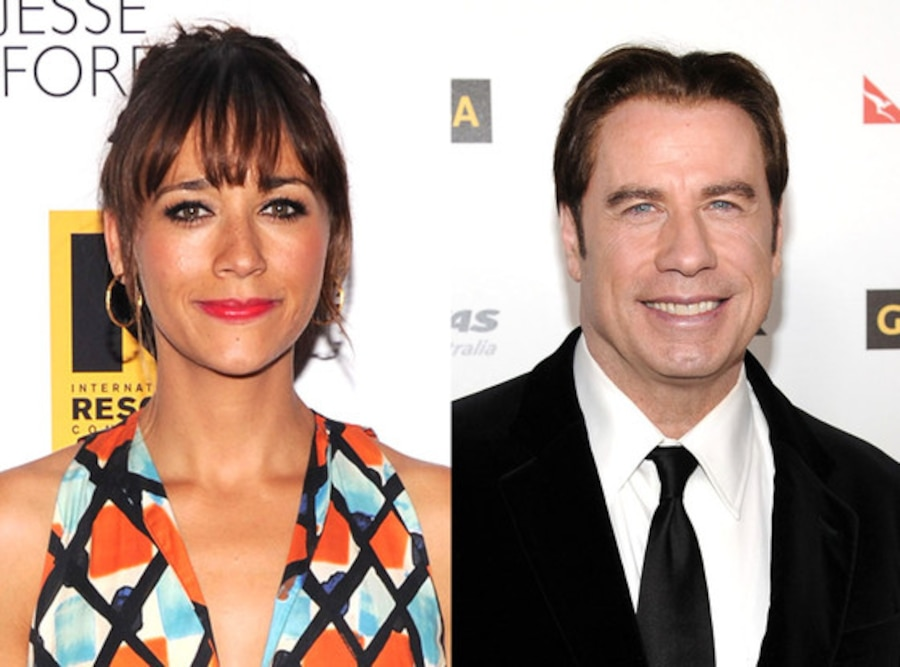 Rashida Jones, John Travolta