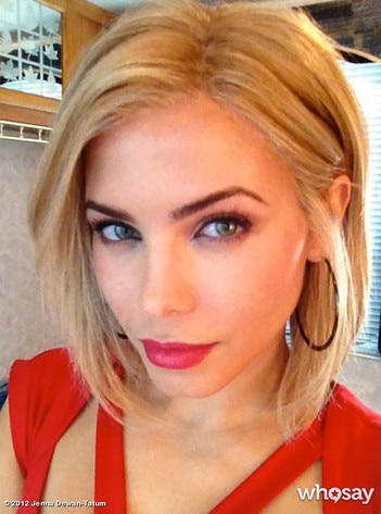 Jenna Dewan, WhoSay **please include posted via his WhoSay page