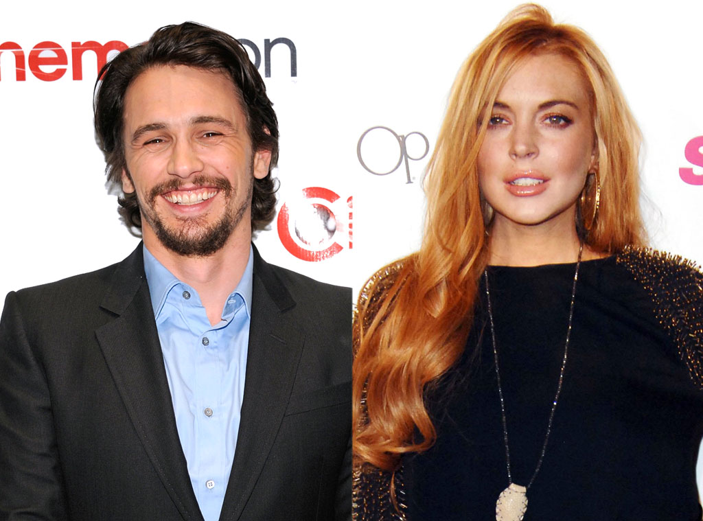 James Franco, Lindsay Lohan