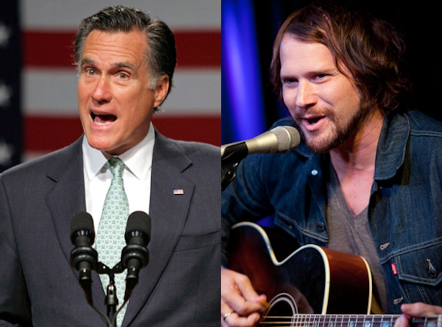 Mitt Romney, Brian Aubert, The Silversun Pickups