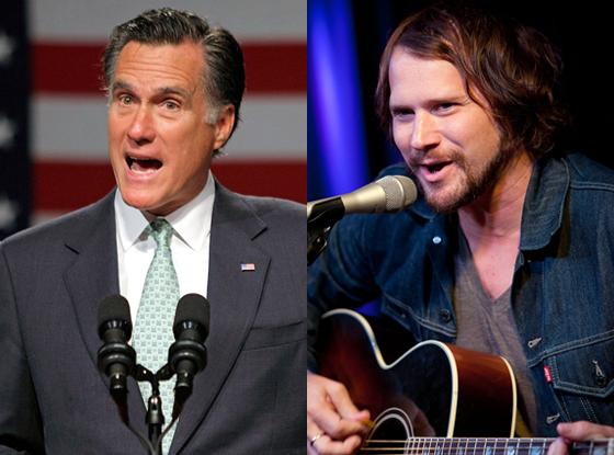 Mitt Romney, Brian Aubert, The Silversun Pickups