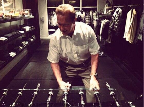 Arnold Schwartzenegger, Twit Pic