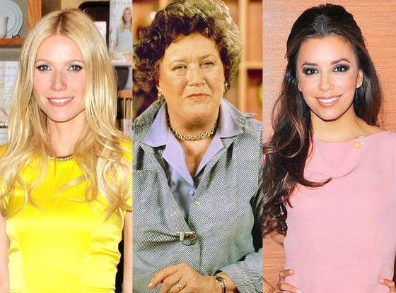 Gwyneth Paltrow, Julia Child, Eva Longoria