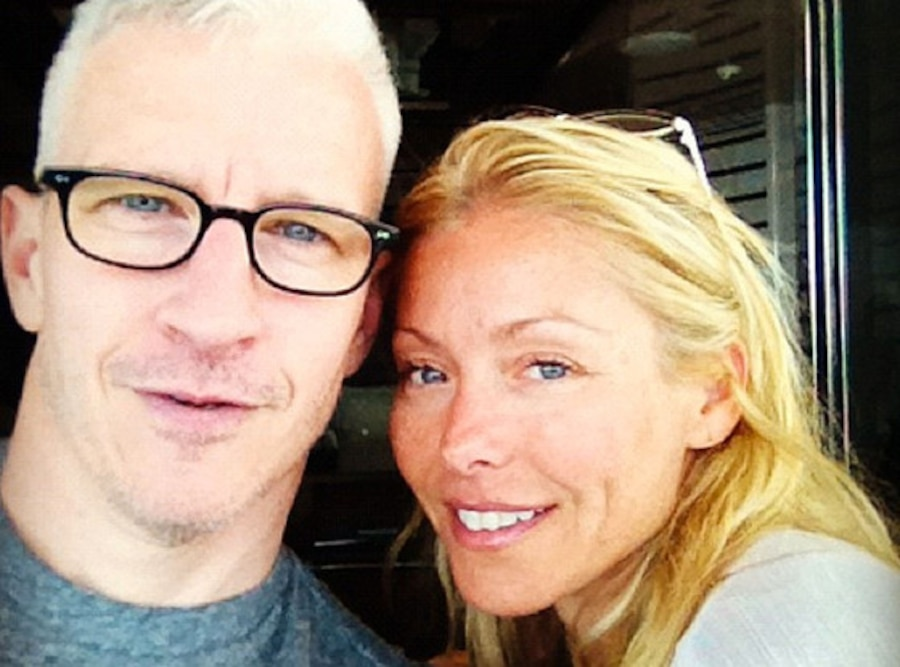Anderson Cooper, Kelly Ripa, Twit Pic