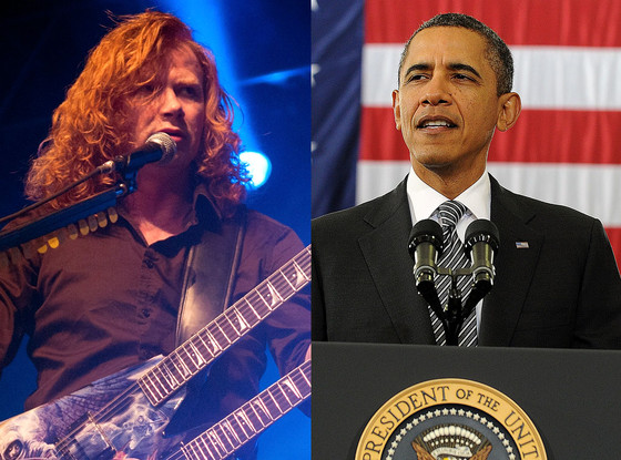 Dave Mustaine, Barack Obama