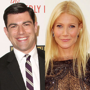 Max Greenfield, Gwyneth Paltrow