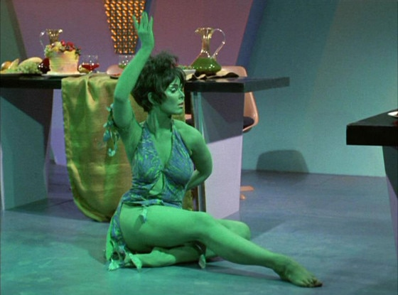 Yvonne Craig, Orion Slave Girl, Star Trek