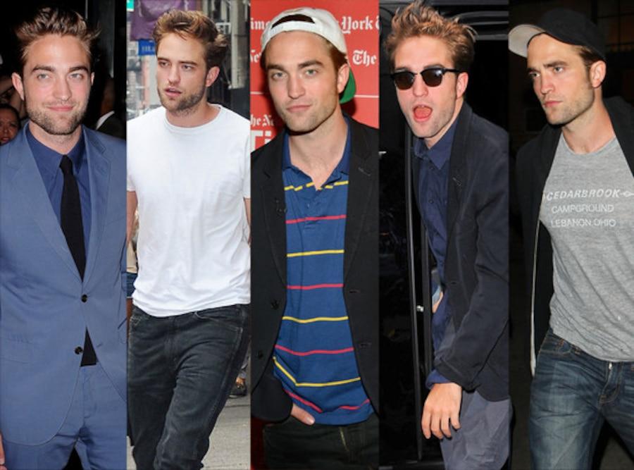 Robert Pattinson, Week In Pics