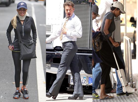 Kristin Chenoweth, Robert Downey Jr., Halle Berry