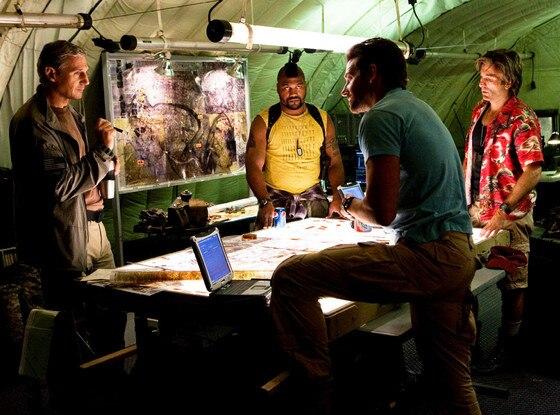 Bradley Cooper, Sharlto Copley, Liam Neeson, Quinton Rampage Jackson, The A-Team