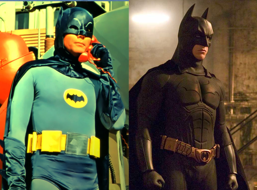 Batman (1966) / Batman Begins (2005) from Movie Remakes ...