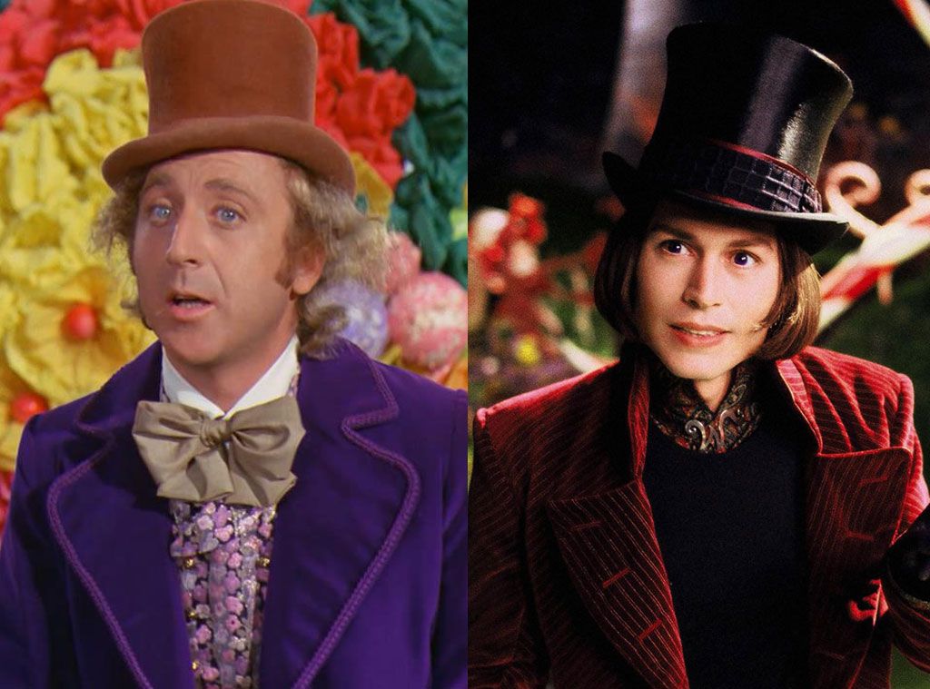 Movie Remakes, Charlie & The Chocolate Factory, Willy Wonka & the Chocolate Factory