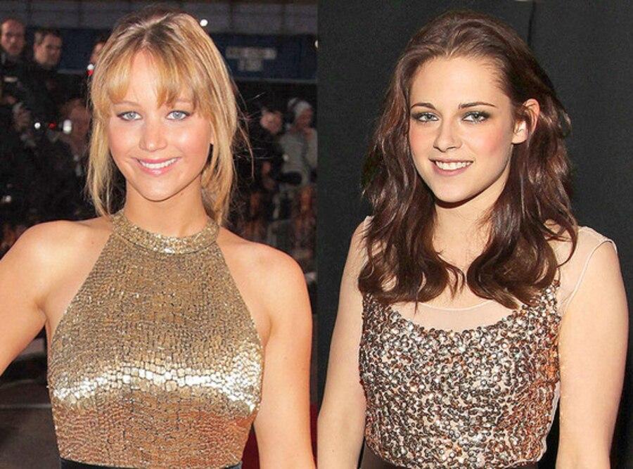 Kristen Stewart, Jennifer Lawrence