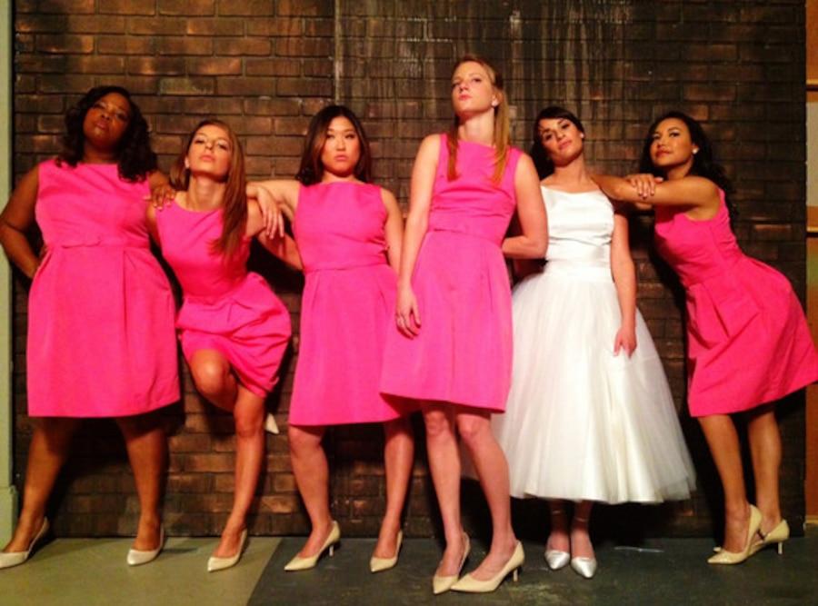 Twitter, Twit Pics, Amber Riley, Vanessa Lengies, Jenna Ushkowitz, Heather Morris, Lea Michele, Naya Rivera