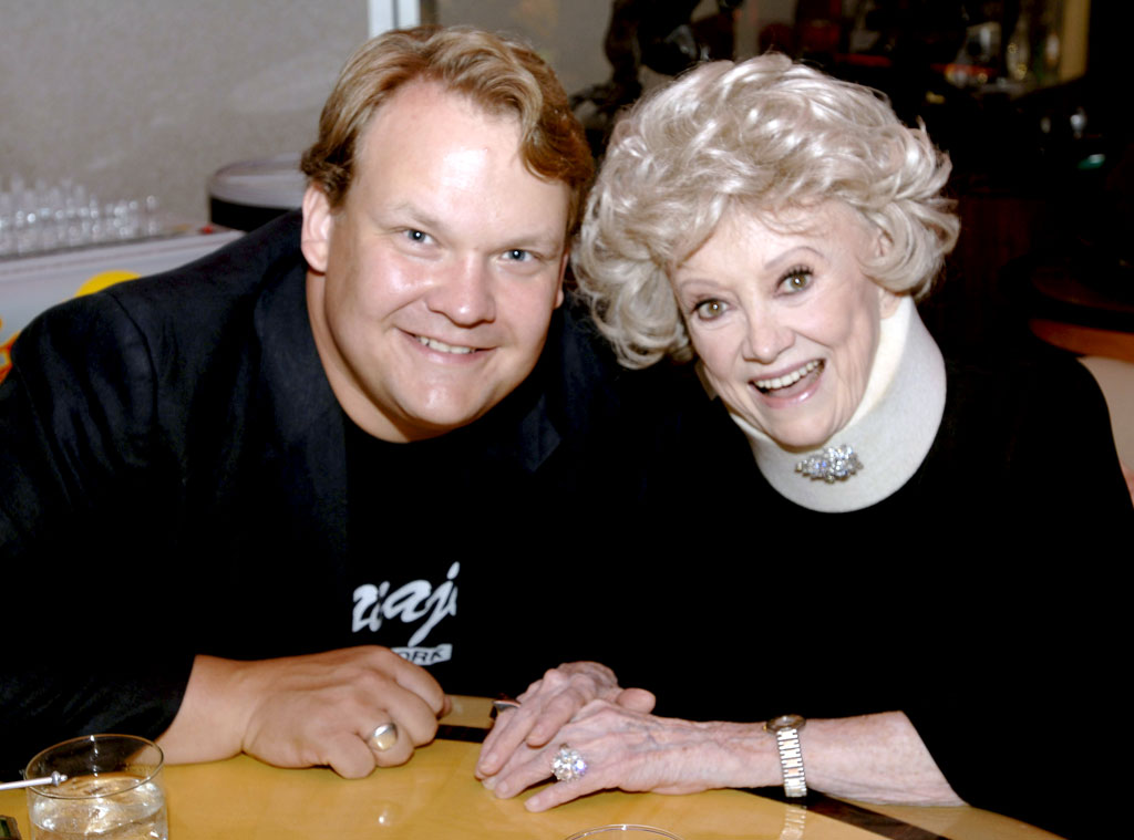 Andy Richter, Phyllis Diller