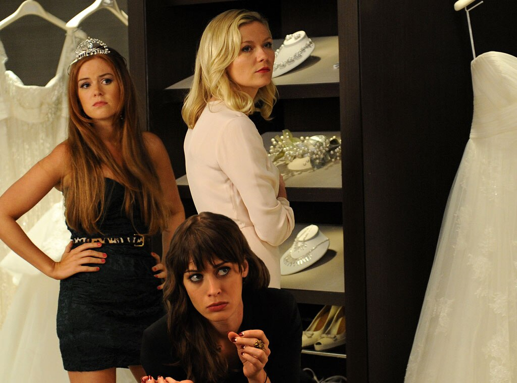 Bachelorette, Kirsten Dunst,Lizzy Caplan, Isla Fisher