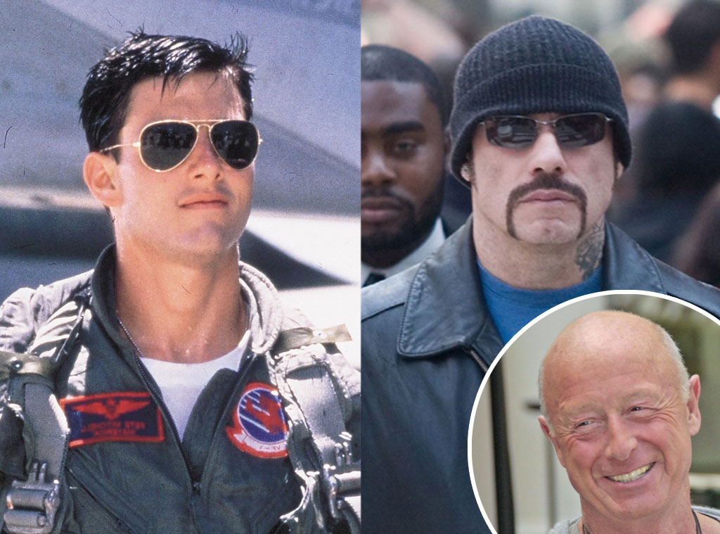 Tom Cruise, John Travolta, Tony Scott