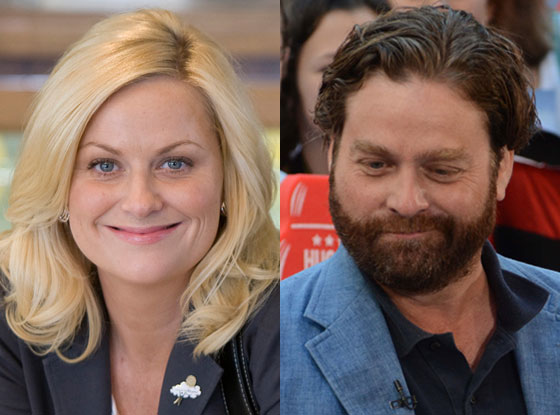 Amy Poehler, Zach Galifianakis