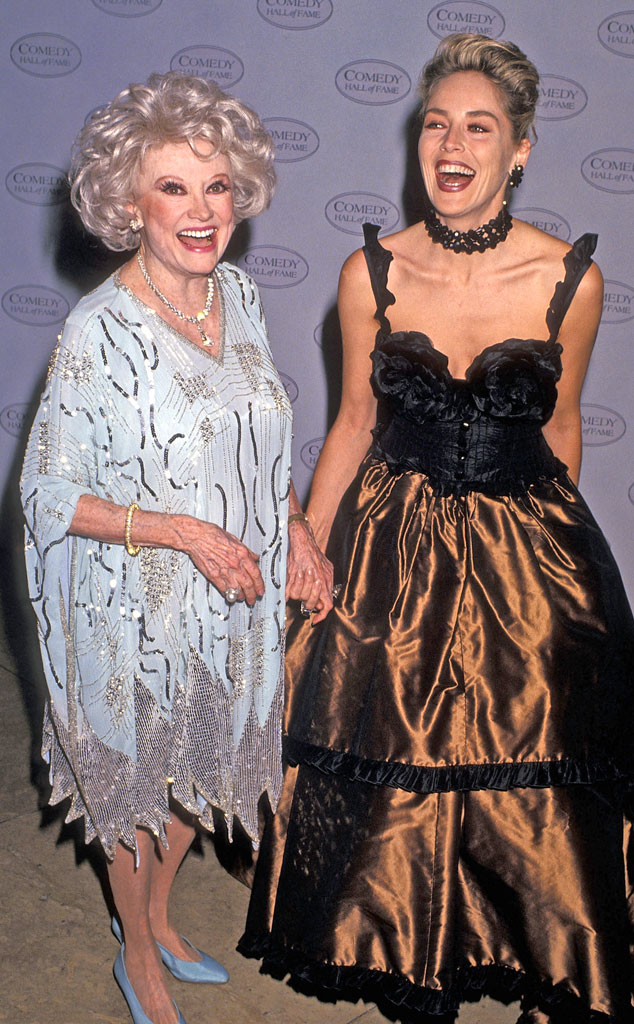 Phyllis Diller, Sharon Stone