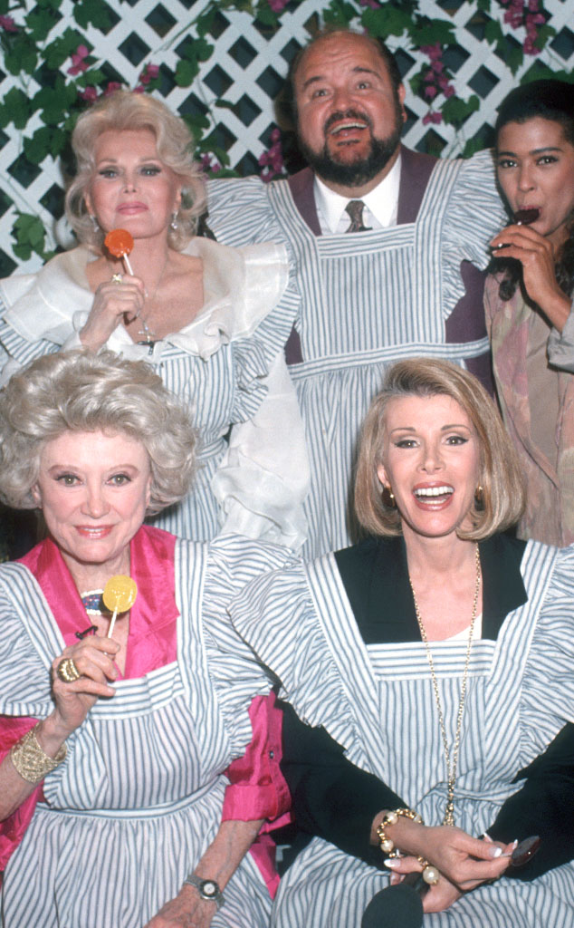 Phyllis Diller, Zsa Zsa Gabor, Dom DeLuise, Joan Rivers, Irene Cara