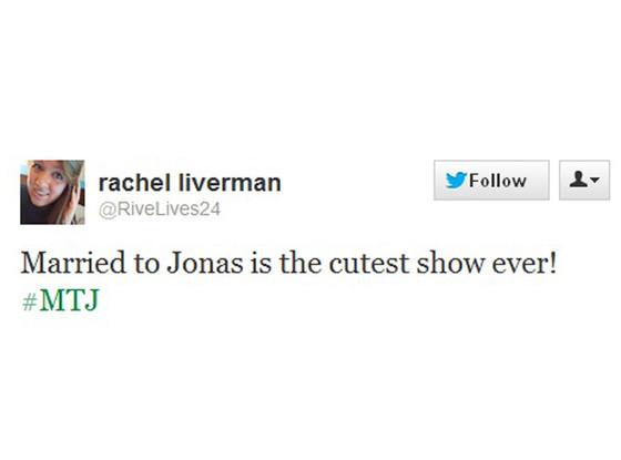 Married To Jonas Tweets