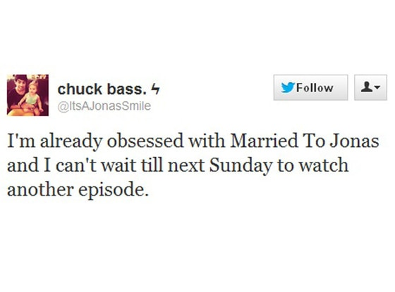 Married To Jonas Tweets
