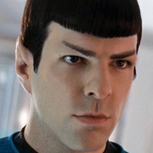 Zachary Quinto, Mr. Spock, Star Trek