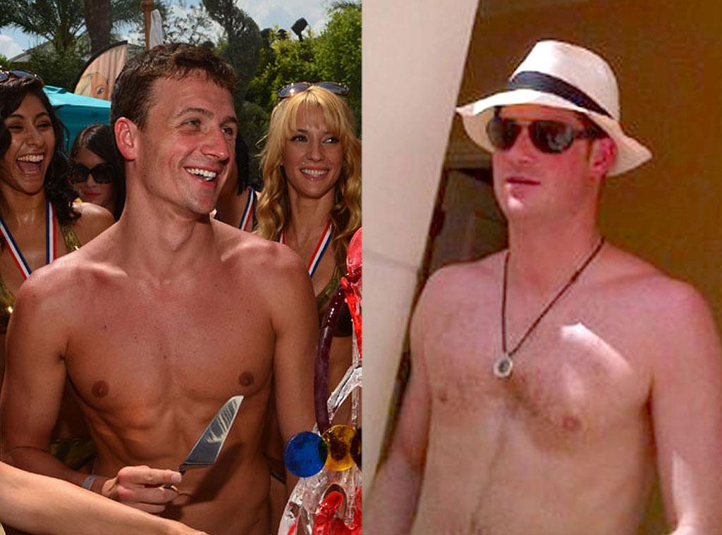 Prince Harry, Ryan Lochte