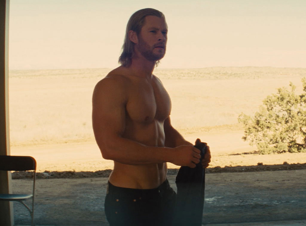 Thor, Chris Hemsworth, Shirtless