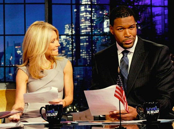 Michael Strahan, Kelly Ripa