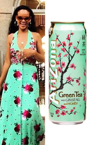 Rihanna, AriZona Iced Tea