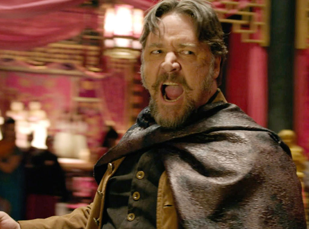 Russell Crowe, The Man with the Iron Fists