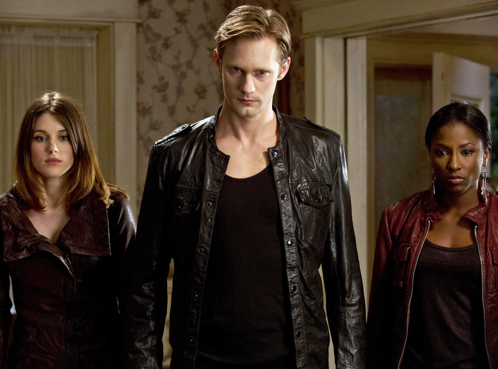 True Blood, Lucy Griffiths, Alexander Skarsgard, Rutina Wesley