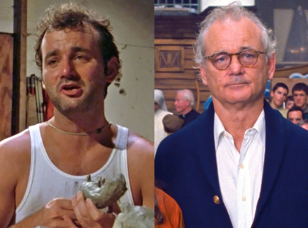 Bill Murray, Moonrise Kingdom, Caddyshack