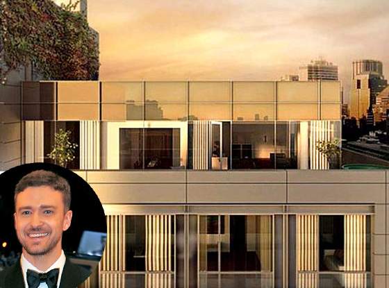 Justin Timberlake NYC Home