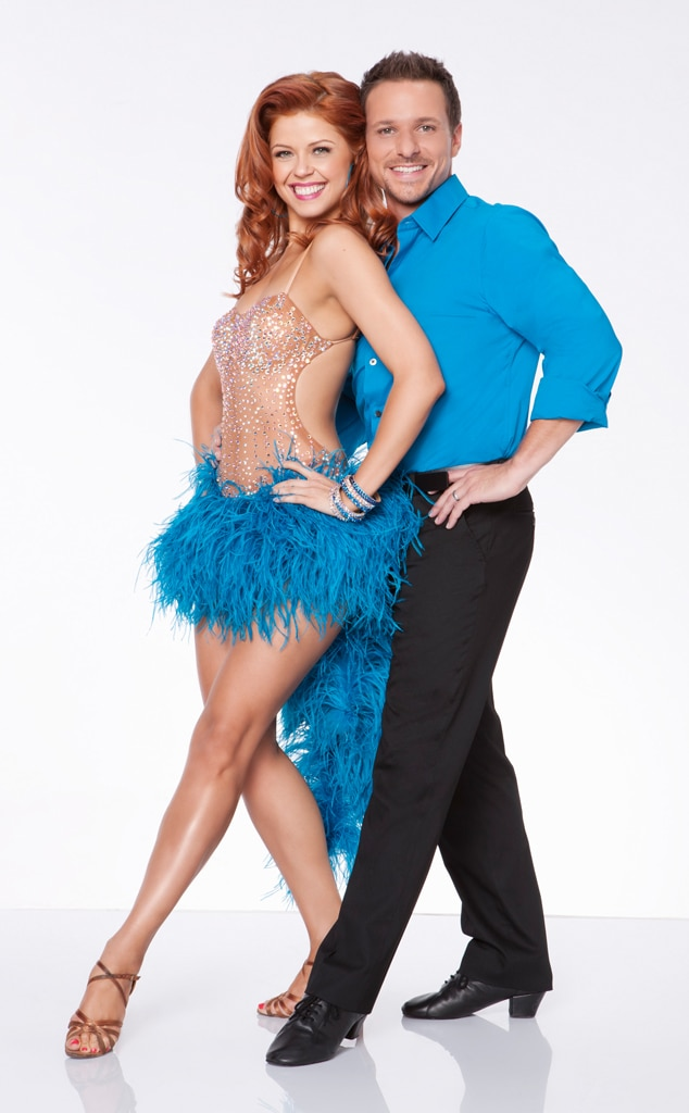 Drew Lachey, Anna Trebunskaya, Dancing with the Stars All-Star
