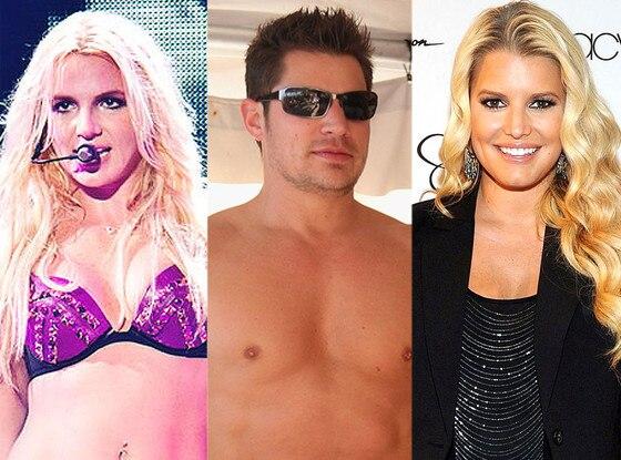 Britney Spears, Nick Lachey, Jessica Simpson