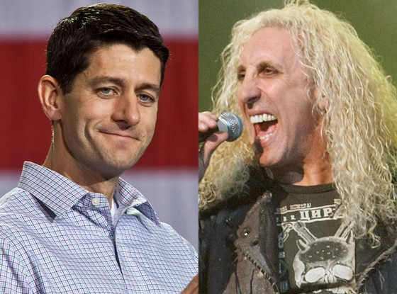 Paul Ryan, Dee Snider