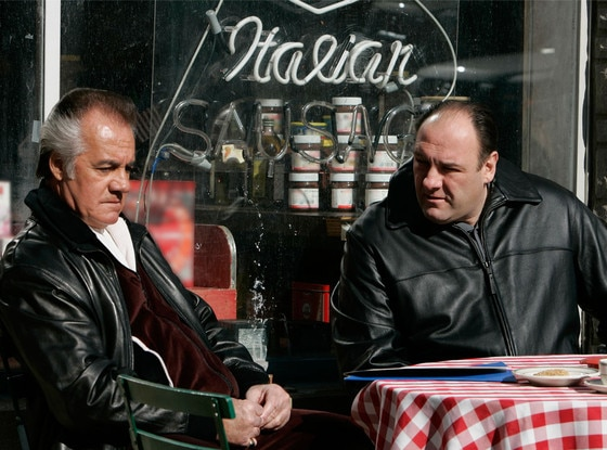 Tony Sirico, James Gandolfini, The Sopranos