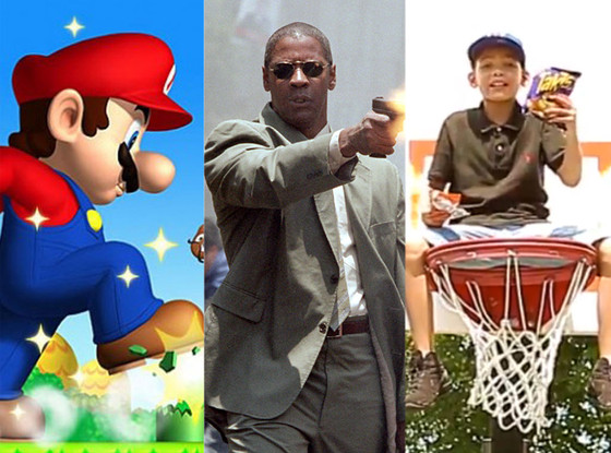 Cheetos kids, Man on Fire, Super Mario 2