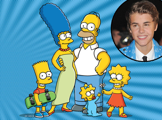 The Simpsons, Justin Bieber
