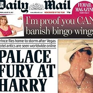 Prince Harry, Daily Mail