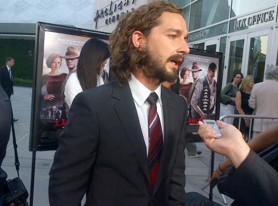 Shia LaBeouf, Malkin Party Pics Instagrams