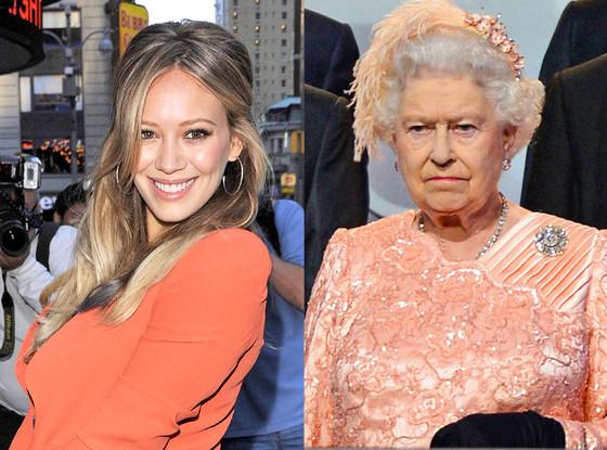 Hilary Duff, Queen Elizabeth