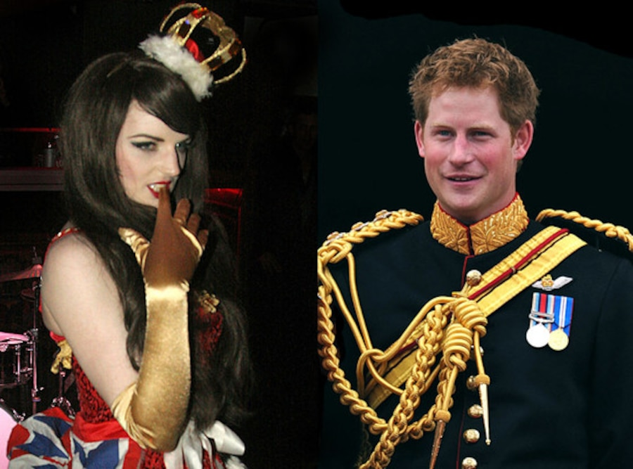 Katrina Darling, Prince Harry
