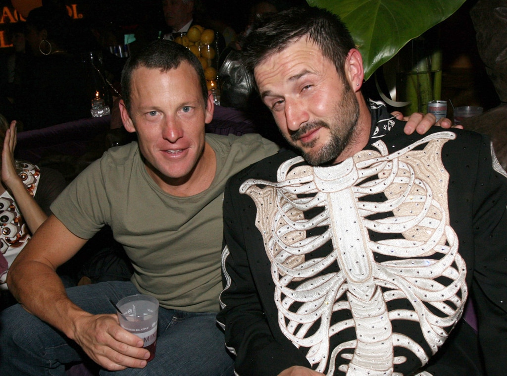 Lance Armstrong, David Arquette