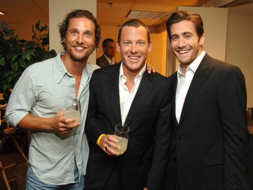 Matthew McConaughey, Lance Armstrong, Jake Gyllenhaal
